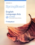 SpringBoard English Language Arts (click for larger picture)