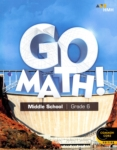 Go Math!: Student Interactive Worktext (click for larger picture)