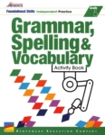 Benchmark Advance - Grammar, Spelling & Vocabulary Activity Book (click for larger picture)