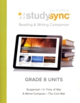StudySync 8 Reading & Writing Companion (click for larger picture)