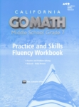Go Math!: Practice and Skills Fluency Workbook  (click for larger picture)