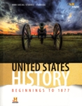 United States History: Beginnings to 1877 (click for larger picture)
