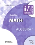 Illustrative Math - Algebra 1 - Unit 1 -2  (click for larger picture)
